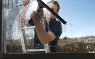 Как очистить стекло от цементного раствора