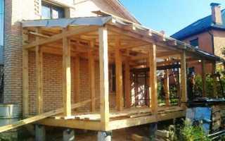 Фундамент под пристройку к кирпичному дому