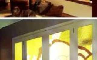 Как клеить витражную пленку на стекло