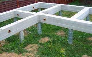 Фундамент ТИСЭ для дома из газобетона