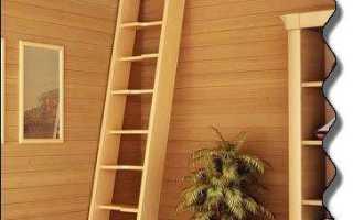 Потолочная лестница на чердак своими руками