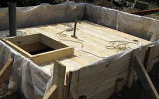 Как сделать перекрытие погреба из бетона