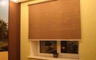 Как прикрепить рольшторы на пластиковые окна