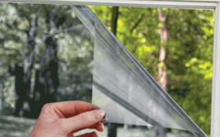 Противоударная пленка на стекло