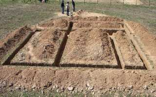 Как быстро выкопать траншею под фундамент